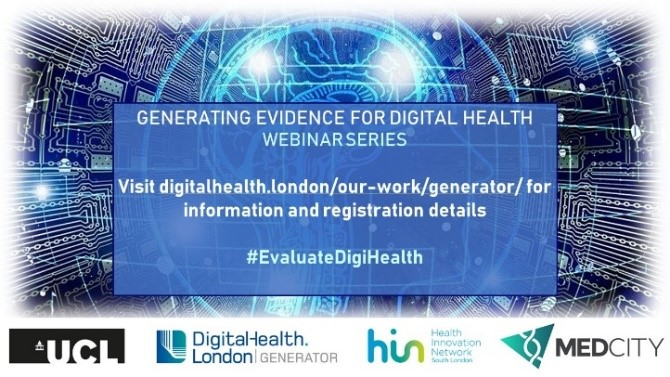 Webinar series: generating evidence for digital health